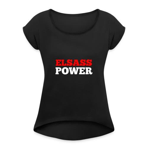 Elsass Power - T-shirt à manches retroussées Femme