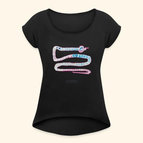 Snake - Maglietta da donna con risvolti
