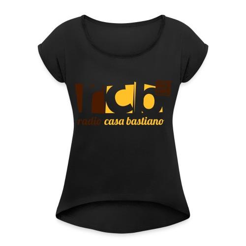 logo rcb copia2 - Maglietta da donna con risvolti