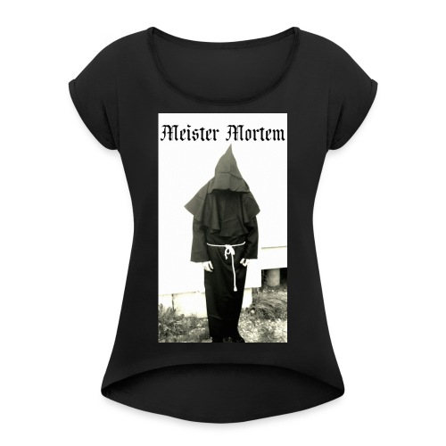 Die schwarzen Priester - Frauen T-Shirt mit gerollten Ärmeln
