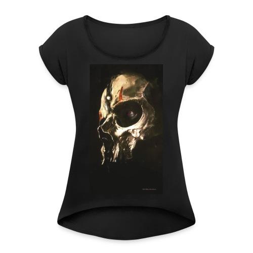 Darth Nihilus - Vrouwen T-shirt met opgerolde mouwen