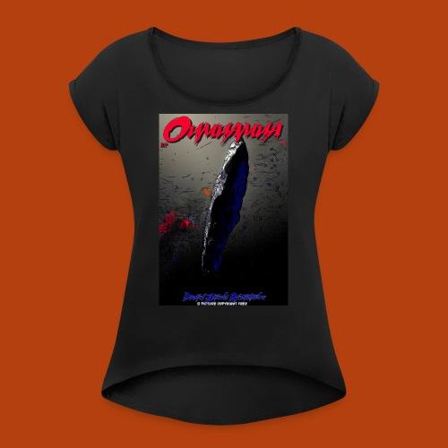 Oumuamua - T-shirt à manches retroussées Femme