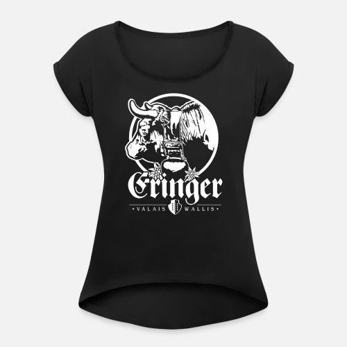 ERINGER – VALAIS / WALLIS - Frauen T-Shirt mit gerollten Ärmeln