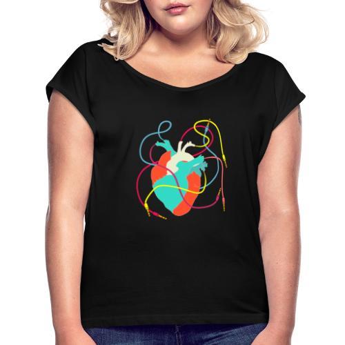 Musician T-Shirt - T-shirt à manches retroussées Femme