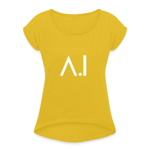 A.I Artificial Intelligence Machine Learning - Maglietta da donna con risvolti