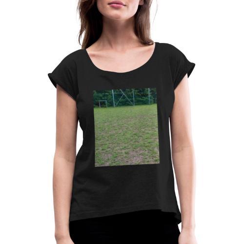 946963 658248917525983 2666700 n 1 jpg - Frauen T-Shirt mit gerollten Ärmeln