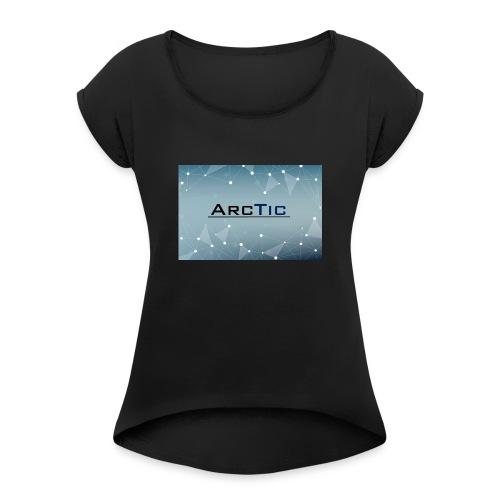 ArcTic - Frauen T-Shirt mit gerollten Ärmeln