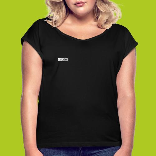 squary - T-shirt à manches retroussées Femme