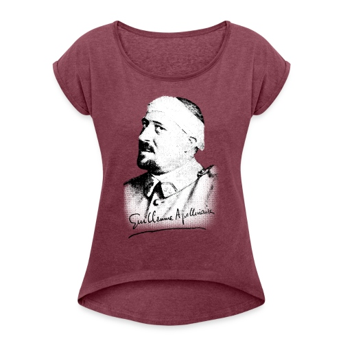 Débardeur Femme - Guillaume Apollinaire - T-shirt à manches retroussées Femme