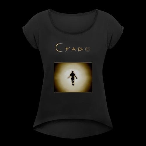 Shape human - T-shirt à manches retroussées Femme