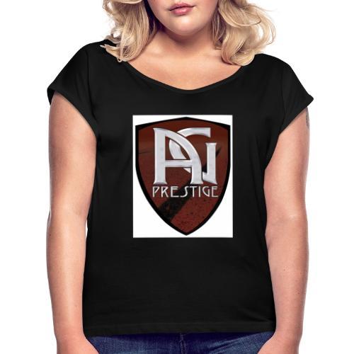 logo Ag prestige - T-shirt à manches retroussées Femme