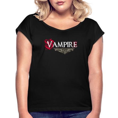 Vampire - Maglietta da donna con risvolti