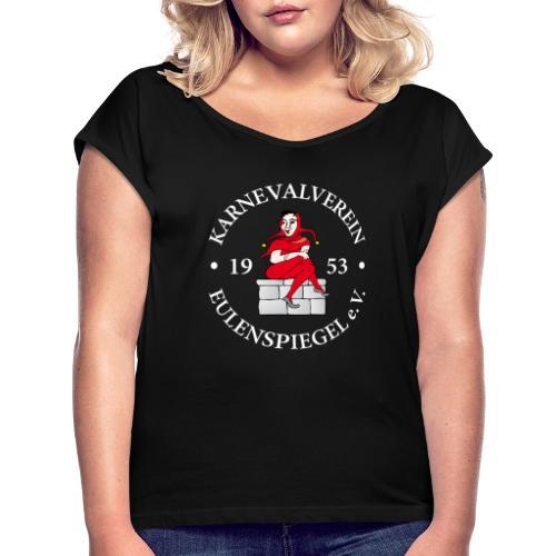 Vereinsbekleidung des KV Eulenspiegel e.V. - Frauen T-Shirt mit gerollten Ärmeln