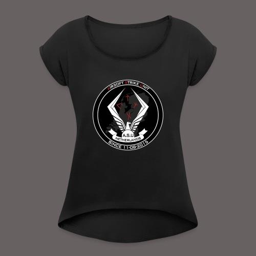 ASU - Vrouwen T-shirt met opgerolde mouwen