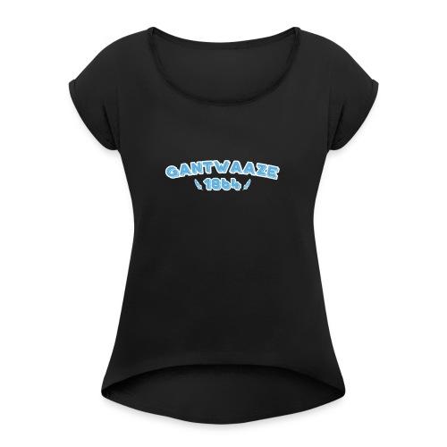 Gantwaaze 1864 - Vrouwen T-shirt met opgerolde mouwen