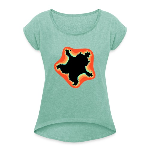 Burn Burn Quintic - Women's T-Shirt with rolled up sleeves