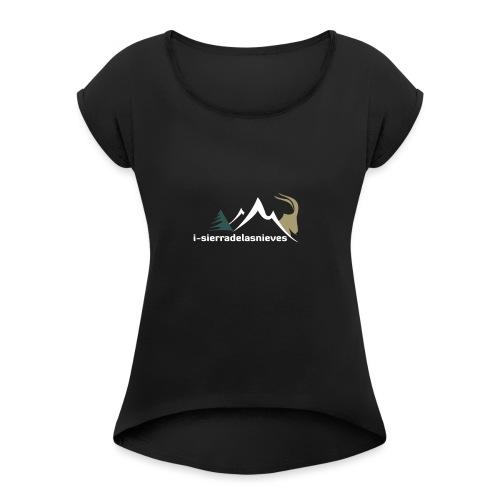 i-sierradelasnieves.com - Camiseta con manga enrollada mujer