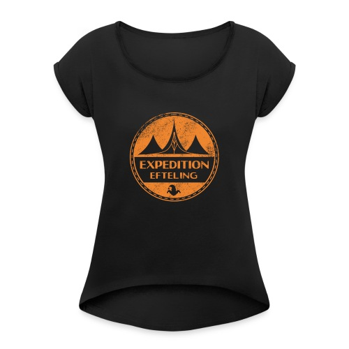 Expedition Efteling - Women's T-Shirt with rolled up sleeves