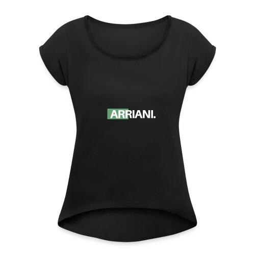 ARRIANI - Camiseta con manga enrollada mujer