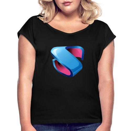Sweet - T-shirt à manches retroussées Femme