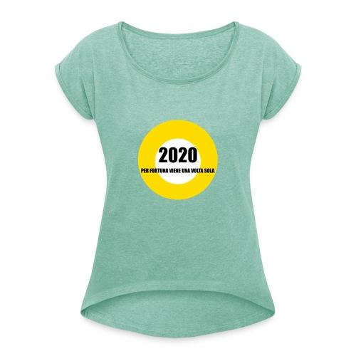2020 - Maglietta da donna con risvolti