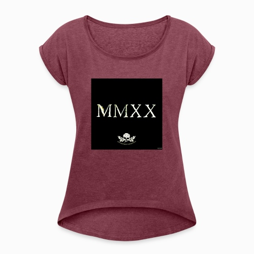 MMXX JKF2020 - Women's T-Shirt with rolled up sleeves
