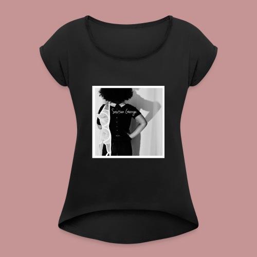 Soutien George - T-shirt à manches retroussées Femme