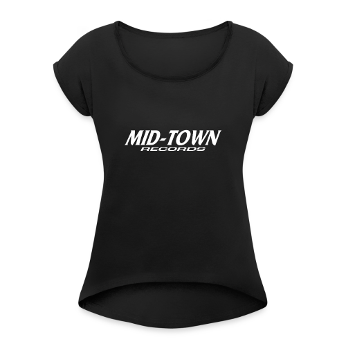 Midtown - Women's T-Shirt with rolled up sleeves