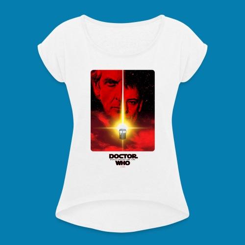 Twelfth Doctor and the Master poster - Maglietta da donna con risvolti