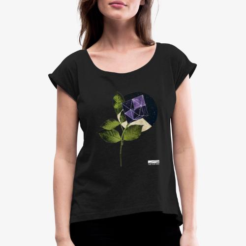 valediction shirt - Women's T-Shirt with rolled up sleeves