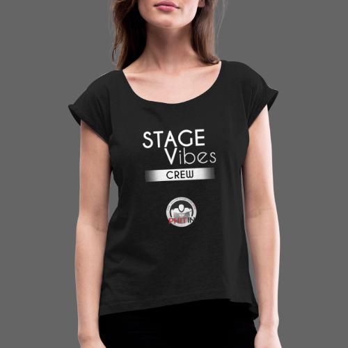 Sponsoring02 - Frauen T-Shirt mit gerollten Ärmeln