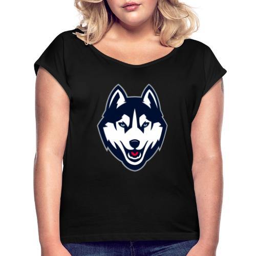 icon de la chaine deaddragon - T-shirt à manches retroussées Femme