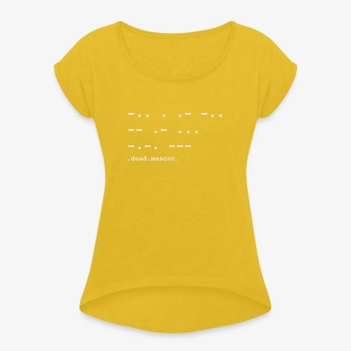 .dead.mascot. EP cover - T-shirt à manches retroussées Femme