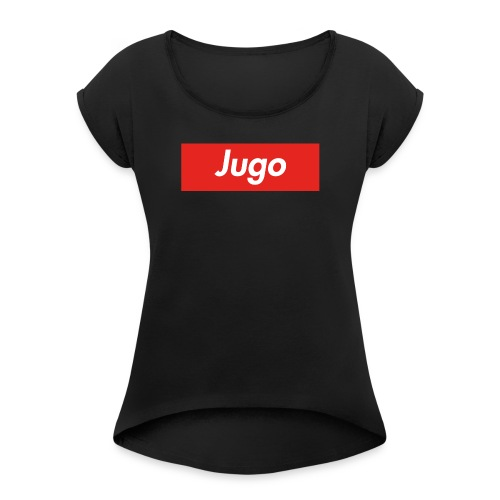 Jugo - Frauen T-Shirt mit gerollten Ärmeln