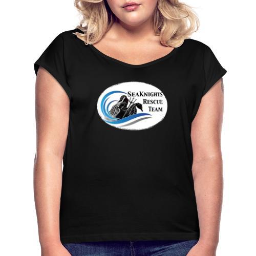 SeaKnightsRescue - Frauen T-Shirt mit gerollten Ärmeln