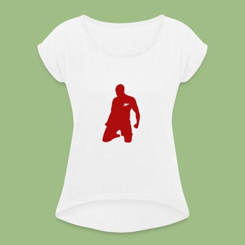 Thierry Henry skal - T-shirt med upprullade ärmar dam