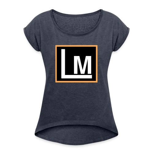 Original LukeMoto - Women's T-Shirt with rolled up sleeves
