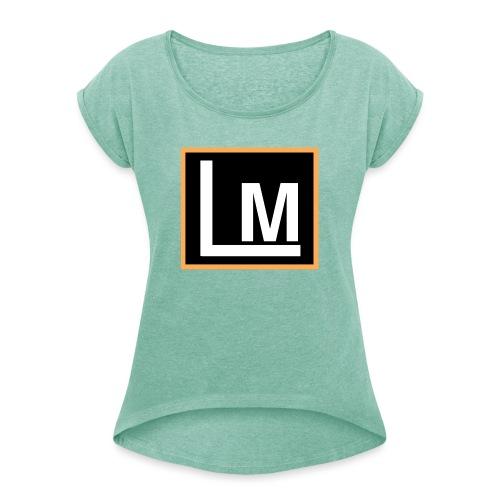 Original LukeMoto - Women's T-Shirt with rolled up sleeves
