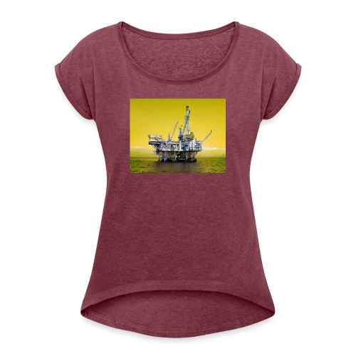 Off shore - Women's T-Shirt with rolled up sleeves