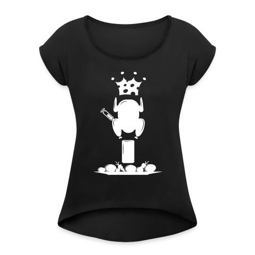 Bella maglietta per le donne 2 - Maglietta da donna con risvolti
