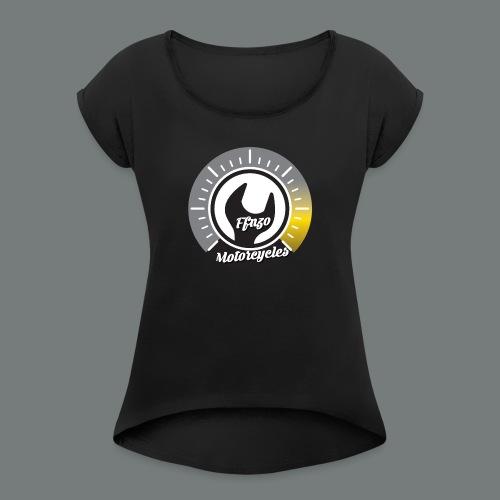 FFNZOMOTORCYCLES - T-shirt à manches retroussées Femme