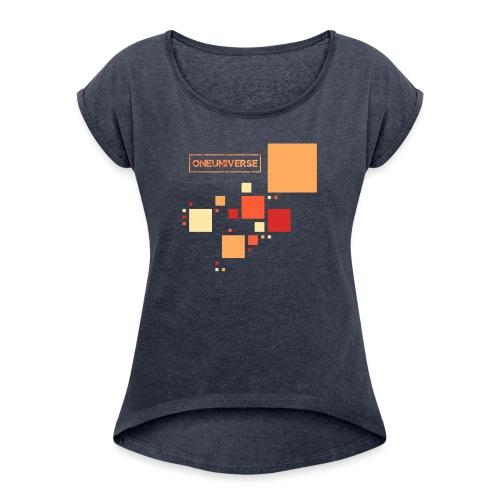 Colors by One Universe - Maglietta da donna con risvolti