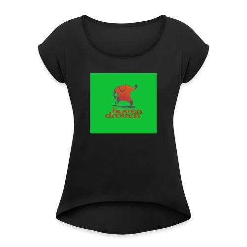 Slentbjenn Knapp - Women's T-Shirt with rolled up sleeves