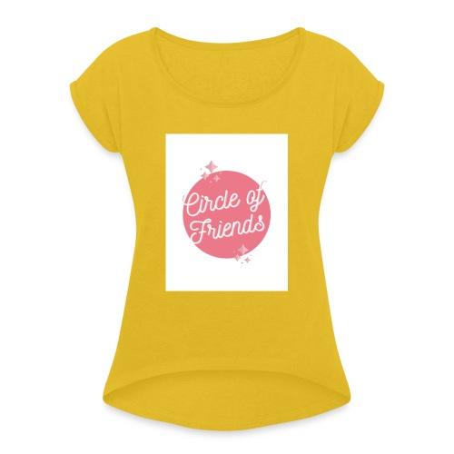 Amis - T-shirt à manches retroussées Femme