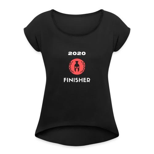 finisher - T-shirt à manches retroussées Femme