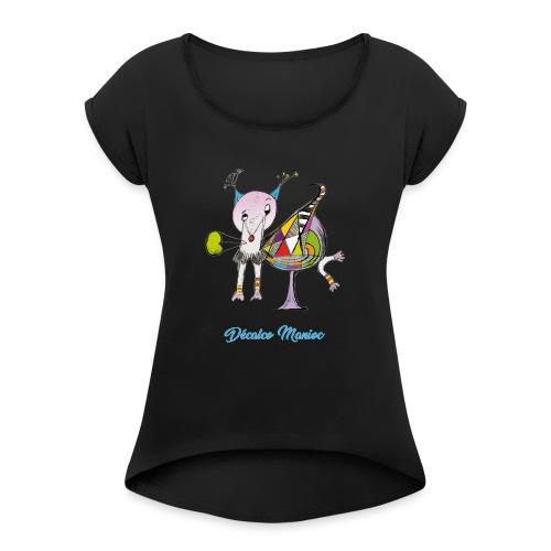 Décalco Manioc - T-shirt à manches retroussées Femme