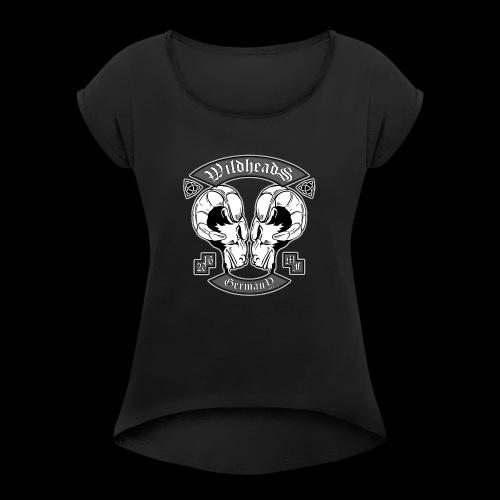 Wildheads Original - Frauen T-Shirt mit gerollten Ärmeln