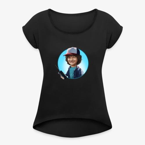Walkie - Camiseta con manga enrollada mujer