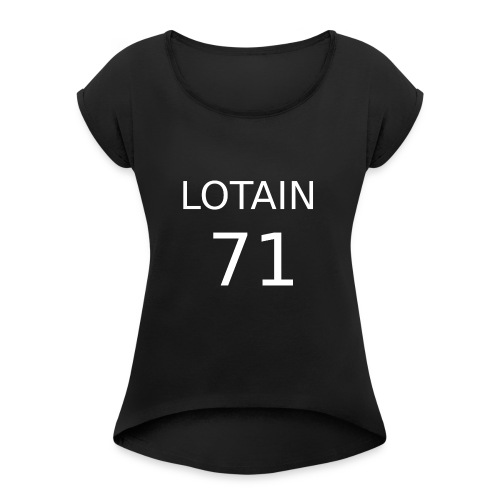 LOTAIN - Maglietta da donna con risvolti