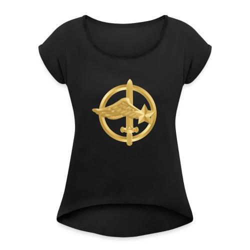 coylogo png - T-shirt à manches retroussées Femme